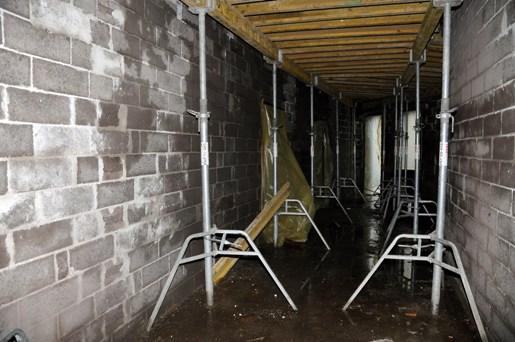 Pašvaldības pirmsskolas izglītības iestādes celtniecības process (19.12.2008)