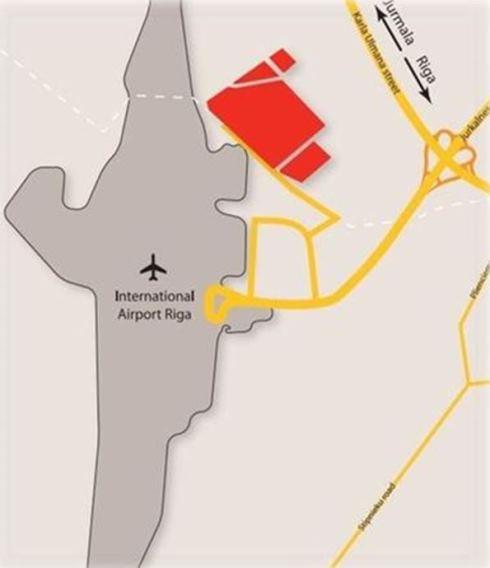 """Neapbūvēti zemesgabali ar kopējo platību 40 ha pie Starptautiskās lidostas """"Rīga"""" liela un vidēja apjoma daudznozaru investīciju projektiem"""