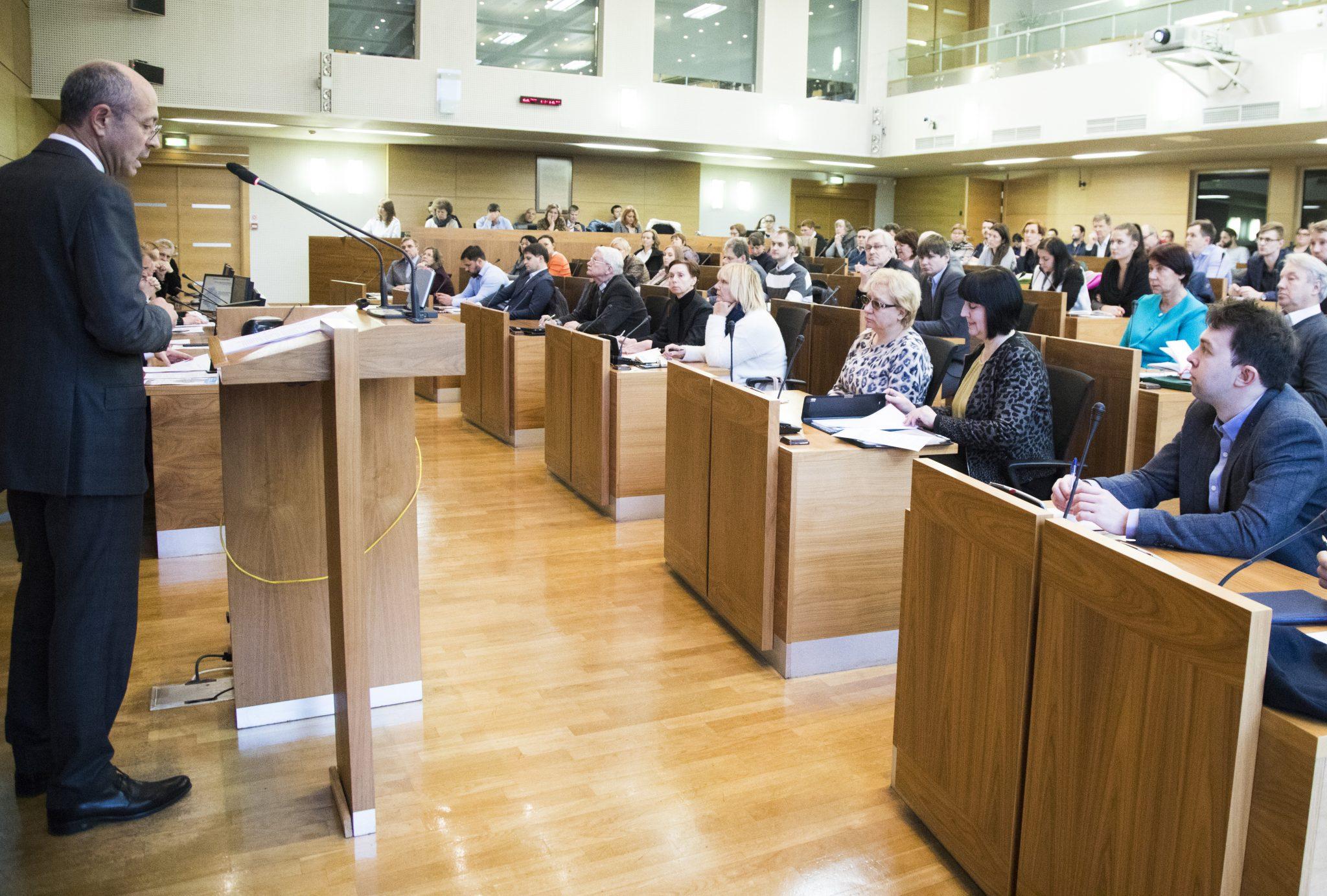 Vairāk nekā 80 namīpašnieku piedalījās seminārā par Rīgas pašvaldības līdzfinansējuma saņemšanu kultūras pieminekļu saglabāšanai