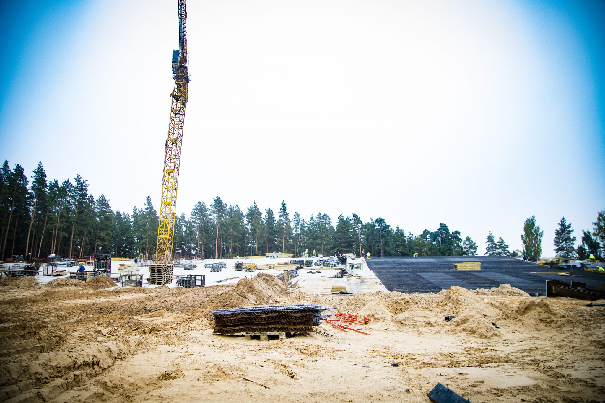 Mežaparka lielas estrādes rekonstrūkcijas gaita #2
