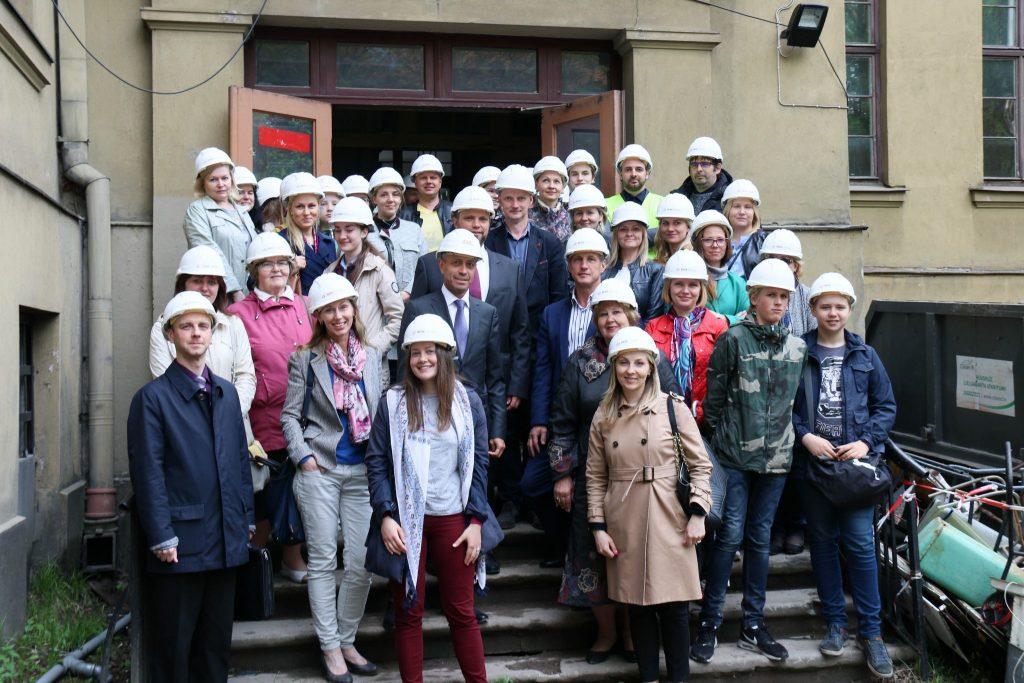 Rīgas Franču liceja vēsturiskās ēkas renovācija Krišjāņa Valdemāra iela 48, Rīgā