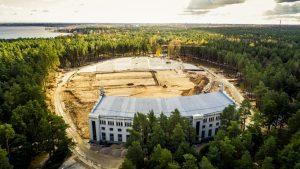 Dziesmu un Deju svētku Rīgas domes rīcības komiteja iepazīsies ar Mežaparka Lielās estrādes pārbūves darbiem