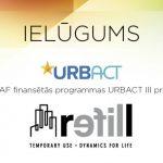 Ielūgums uz ERAF finansētās programmas URBACT II projekta noslēguma pasākumu