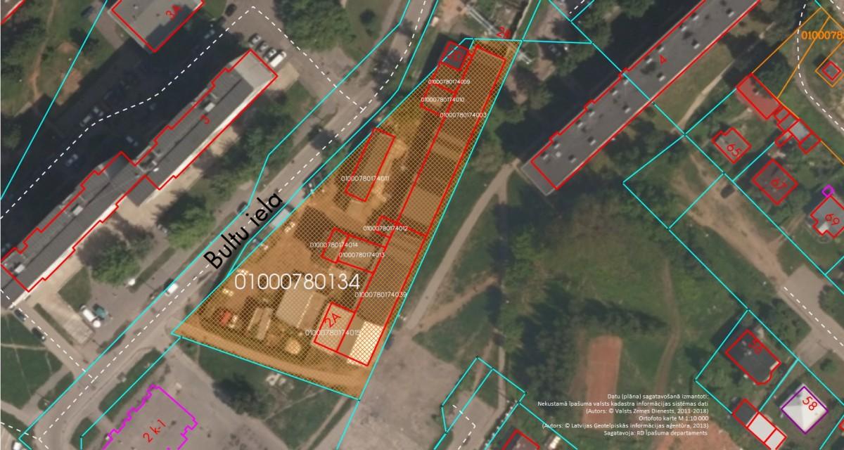 Nekustamais īpašums Bultu ielā 2A, Rīgā (Ķengaragā)