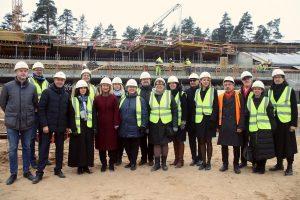 Mežaparka jaunās estrādes būvdarbi apsteidz plānoto darbu grafiku par aptuveni pusotru mēnesi