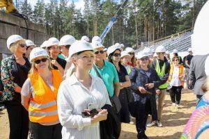 Mežaparka jaunās estrādes būvniecība norit pēc plānotā grafika