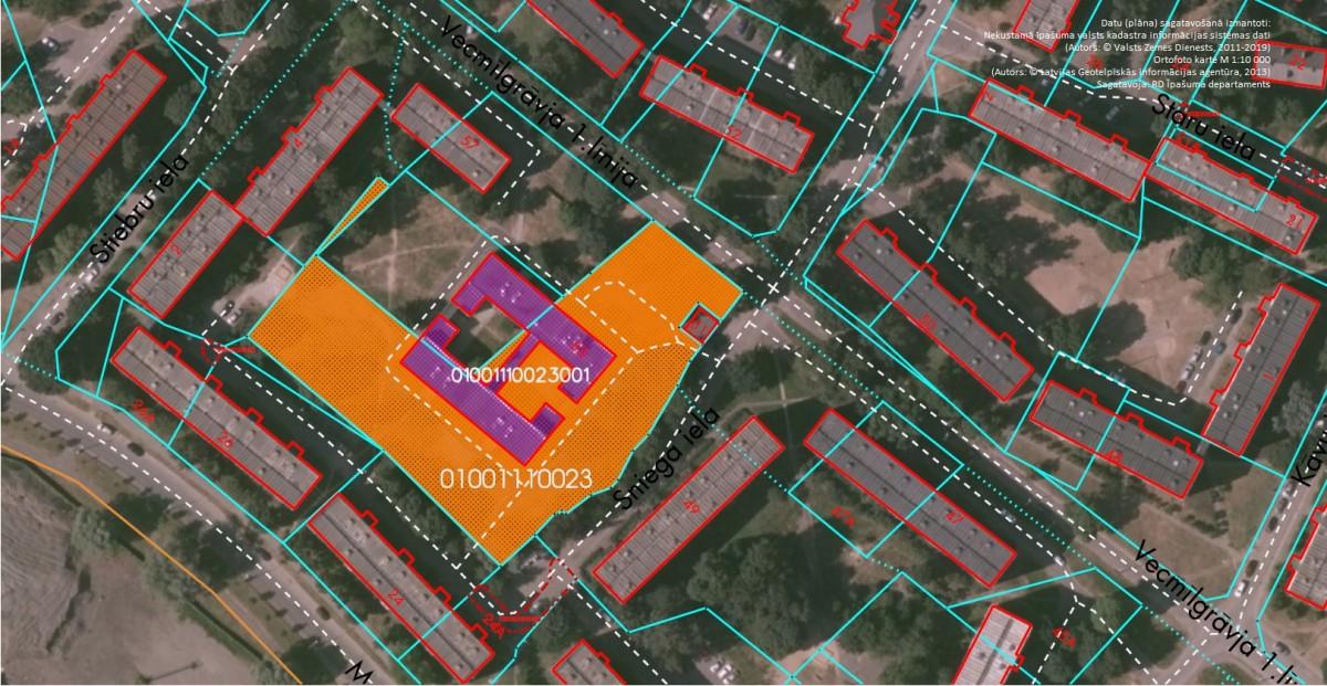 Nekustamo īpašumu Vecmīlgrāvja 1.līnijā 53, Rīgā, elektroniskā izsole nenotika
