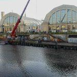 Nostiprina Rīgas Centrāltirgus avārijas stāvoklī esošo pilsētas kanālmalu