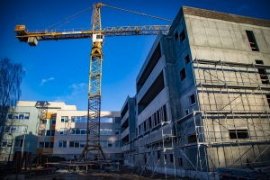 Rīgas Klasiskās ģimnāzijas jauno laboratoriju korpusu plānots uzbūvēt līdz 1. septembrim