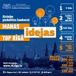 """25.03.2020.-Līdz 8. maijam pagarināts pieteikšanās termiņš konkursam """"Manas idejas top Rīgā"""""""
