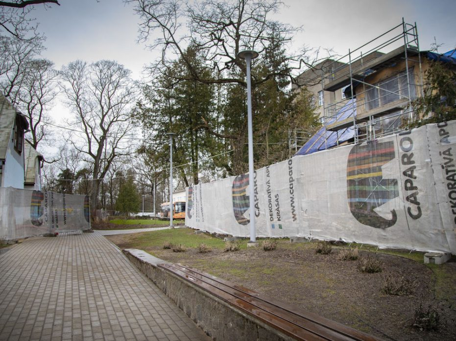 15.04.2020.-Pie Rīgas Angļu ģimnāzijas top moderna piebūve