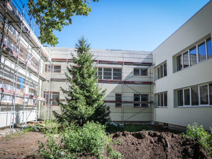 """Jaundibinātajai Rīgas pirmsskolas izglītības iestādei """"Ligzdiņa"""" ēkai uzlabos energoefektivitāti -5"""