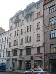Rīgas domes Vidi degradējošu būvju komisija klasificē ēku A.Čaka ielā 34 par B kategorijas graustu A_Chaka_34