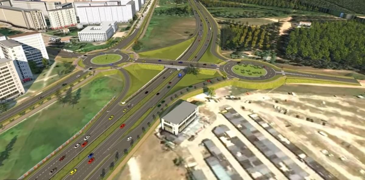 Pašvaldība atpirks zemi Dienvidu tilta ceturtās kārtas projekta īstenošanai