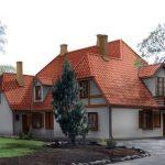 Atjaunots vēsturiskais Borherta muižas nams
