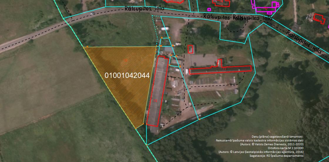 Elektroniskā izsolē ar augšupejošu soli tiek pārdots neapbūvēts zemesgabals Rātsupītes ielā 15, Rīgā (Kleistos)