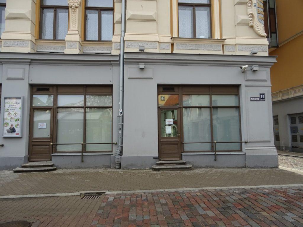 Sludinājums par nekustamā īpašuma – nedzīvojamās telpas Kaļķu ielā 16, Rīgā (kadastra Nr.0100 002 0072) daļas (telpu grupa 003), nomas tiesību mutisko izsoli