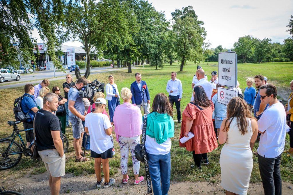 Rīgas dome: Mazdārziņu lietotājiem nepieciešama drošība, kārtība un skaidri spēles noteikumi