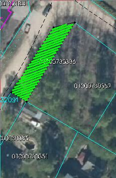 Zemes starpgabals Dignājas ielā, Rīgā (kadastra Nr.0100 073 0435; kadastra apzīmējums 0100 073 0336)